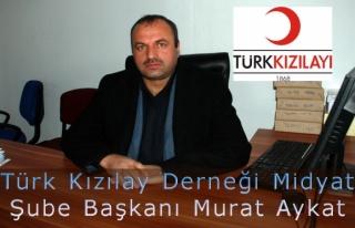 Türk Kızılay Derneği Midyat Şubesi 2014 yılı...