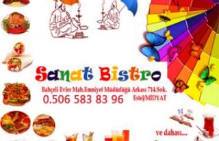 Sanat Bistro Cafe - Midyat Kafe