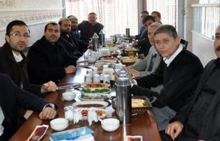 BASK Üyeleri Midyat'ta Kaynaşma Yemeğinde Bir Araya...