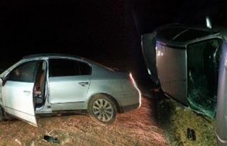 Midyat'ta Aynı Gece İki Trafik Kazası : 7 Yaralı