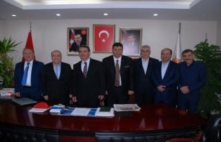 Dr. Nihat Özkan'dan Ak Parti İl Başkanını Ziyaret...