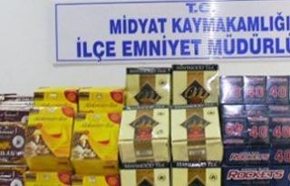 Midyat Polisinden Kaçak Çay ve Sigara Operasyonu