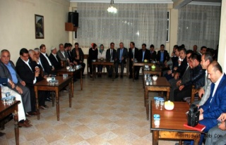 Mardin Ak Parti Milletvekilleri Adayları Nihat Eri'nin...