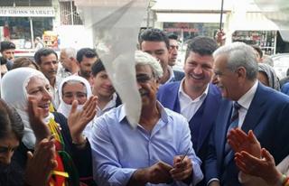 Midyat HDP, Estel Kesiminde Seçim Bürosunu Açtı