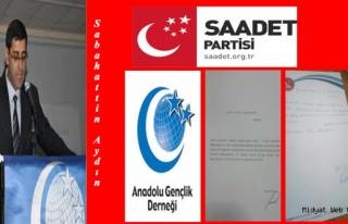 Midyat Agd Ve Saadet Partisi Mardin de İstifa