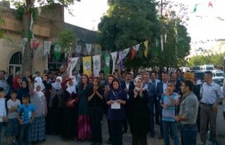 Midyat'ta HDP Üyeleri Saldırıları Kınadı