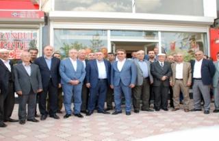 Miroğlu, Seçim Çalışmalarına Midyatta Devam...