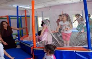 Midyat MYO Anaokulu Oyun Parkı Açıldı