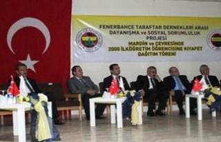 Fenerbahçe'den Midyat'lı Öğrencilere Yardım