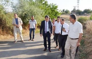 Vali Çelik Yaylıca ve Diktepe Köylerini Ziyaret...