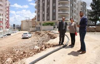Artuklu'da yeni yol yapımına başlandı