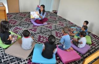 Çiçek Kadın Danışma Merkezi Kreşi Eğitime Başladı