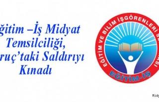 Eğitim –İş Midyat Temsilciliği, Suruç'taki...