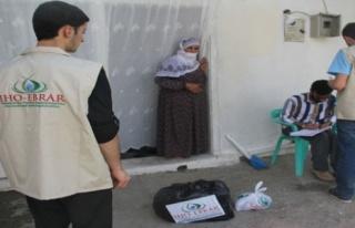 IHO EBRAR'dan Midyat'ta fakirlere gıda yardımı