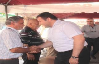 Midyat Belediye Başkanı Nasıroğlu, Şehit Polisin...