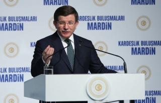 Başbakan Davutoğlu Mardin'de Terörle Mücadele...