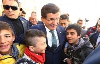 Başbakan Davutoğlu, Midyat'taki telafi eğitim programına...