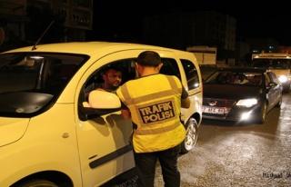 Türkiye Güvenli Trafik Denetimi-4 Uygulaması Midyat'ta...