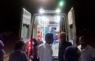 Adıyaman'da iki otomobil çarpıştı: 10 yaralı