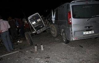 Adıyaman'da trafik kazası: 2 ölü, 5 yaralı