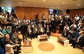 AK Parti Gaziantep milletvekilleri mazbatalarını...
