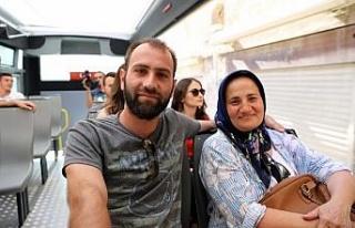 Mardin'de turistlere rehber eşliğinde ücretsiz...
