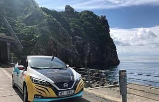 Yeni Nissan Leaf, Polonya ile Japonya arasında 16...