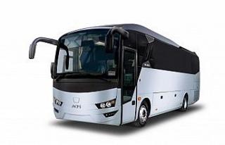 AOS'un ilk sağdan direksiyonlu otobüsünü Euro...