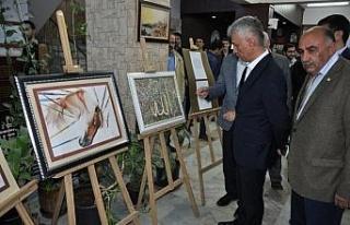 Cizre'de resim sergisi açıldı