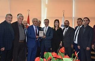 Gazeteciler Şırnak Üniversitesini ziyaret etti