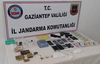 Gaziantep'te uyuşturucu operasyonu: 6 gözaltı
