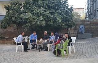 Kaymakamı Düzgün'den şehit ailesine ziyaret