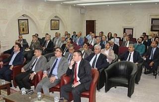 Mardin'de İl Koordinasyon Kurulu toplantısı...