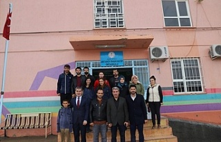 Milli Eğitim Müdürü Sarı'nın okul ziyaretleri