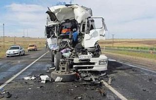 Şanlıurfa'da trafik kazası: 1 ölü
