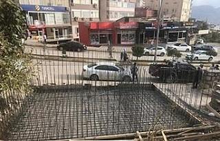 Şırnak'ta dikey bahçe projesi başlatıldı