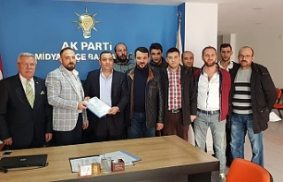 Ak Parti Midyat Belediye Başkan Adayı Murat Erdinç...