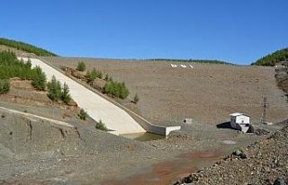 Bayraktepe Göleti su tutmaya başladı