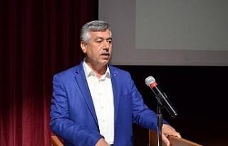 Eğitim-Bir-Sen'de, Ergin yeniden başkanlığa seçildi