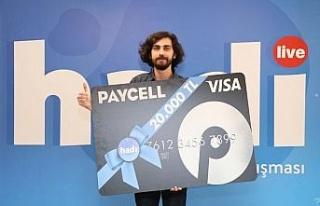 En Zor Hadi'nin kazananı ödülünü Paycell'den...