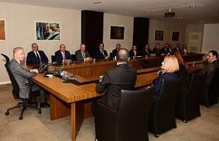 Gaziantep ile KKTC arasında ticareti geliştirme...