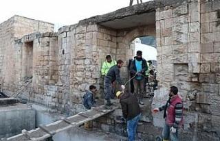 Hasankeyf'teki Eyyubi Camisi'nin Taşınmasına...