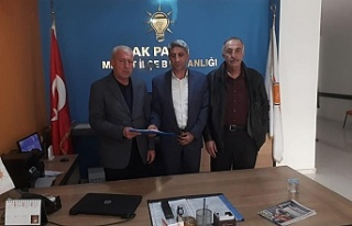 İzzettin Aslan Ak Parti'den Belediye Başkan...