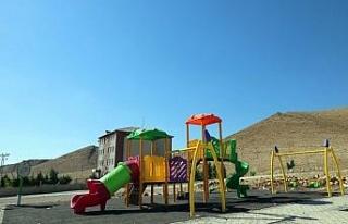 Mardin Kırsal Mahallelerine 242 Çocuk Oyun Alanı