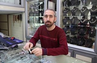 Midyat'ta Gümüşçüden Hırsızlık Anı Güvenlik...
