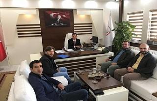 UDEF'ten Midyat Milli Eğitim Müdürü Altay'a...