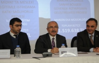 Vali Yaman : Midyat'ta OSB Çalışmaları Sürüyor