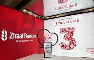 Ziraat Bankası 3'üncü kez en sevilen banka seçildi
