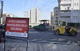 Artuklu'da yol yapımına 33 milyon lira yatırım