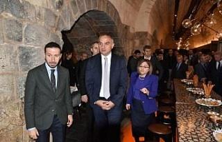 Kültür ve Turizm Bakanı Ersoy Gaziantep'te müzeleri...